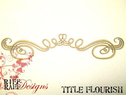 Title flourish