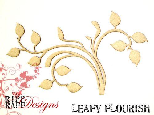 Leafy flourish